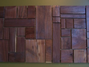 wooden wall art (up close)