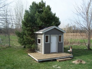 kids, playhouse, imagination, cool, awesome, dad, cottage, handmade, design, wood