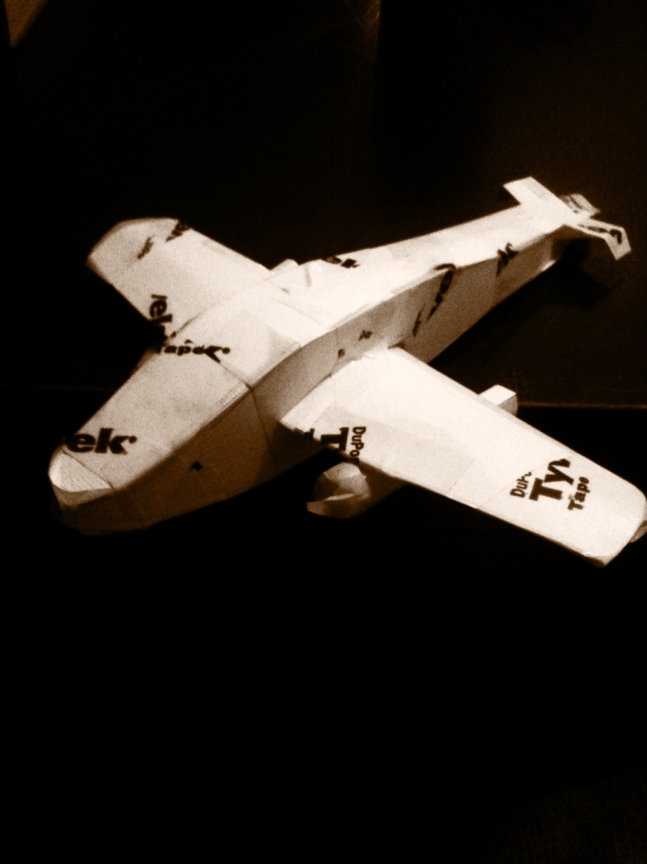 paper airplane_front