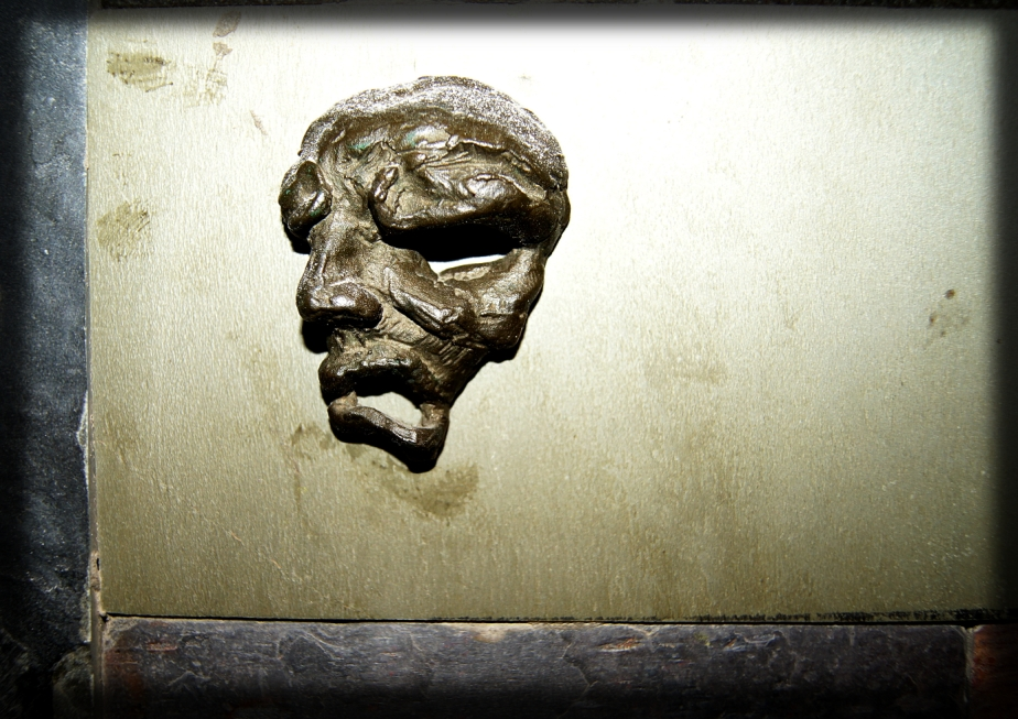 Bronze Emerging Head Sculpture | TonyFrentrop.com