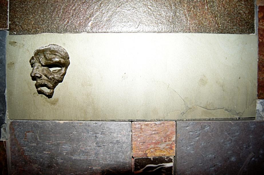 Bronze Emerging Head Sculpture   TonyFrentrop.com