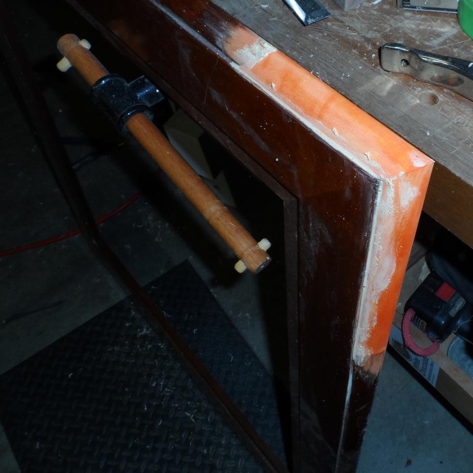 table - orange