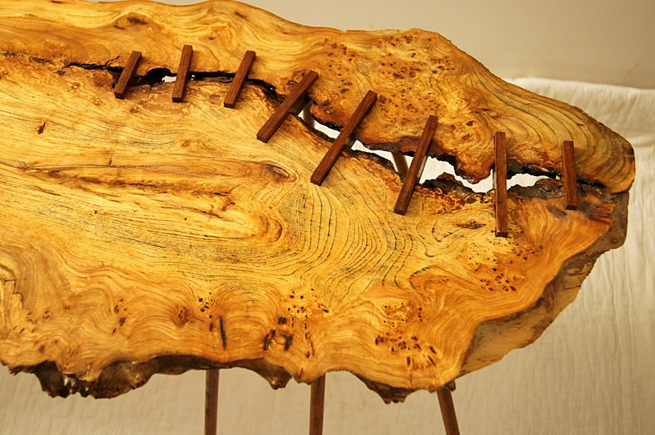 solid wooden table top