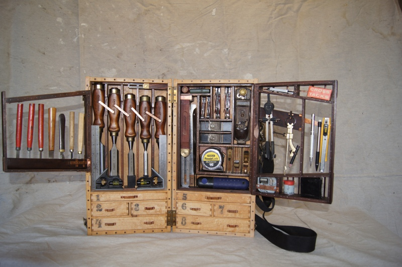 Wooden Storage Tool Box Plans