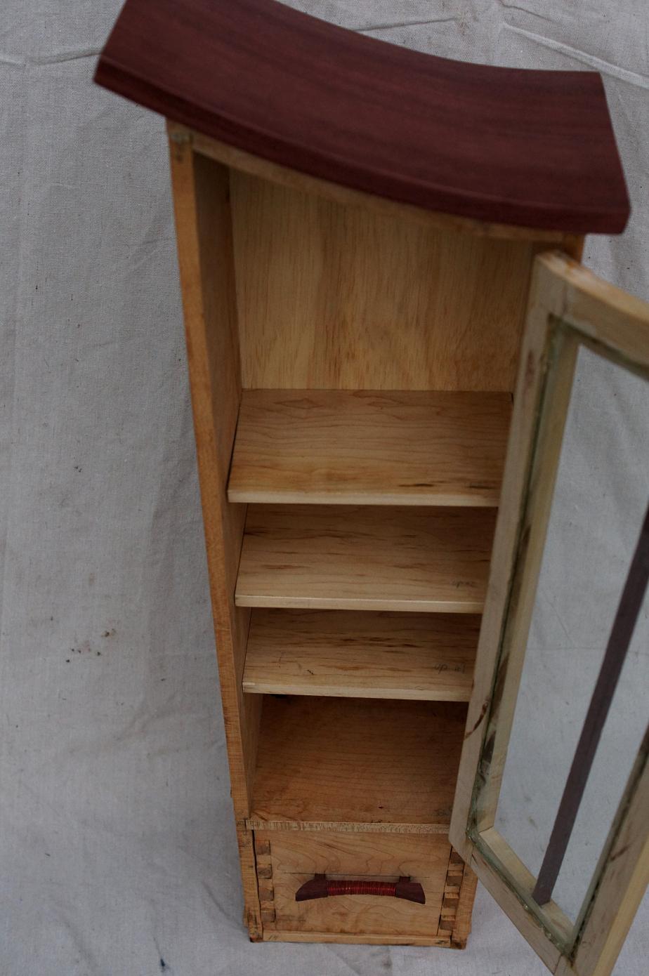 Bent Wood Cabinet | tonyfrentrop.com