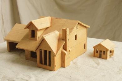 minature houses | tonyfrentrop.com