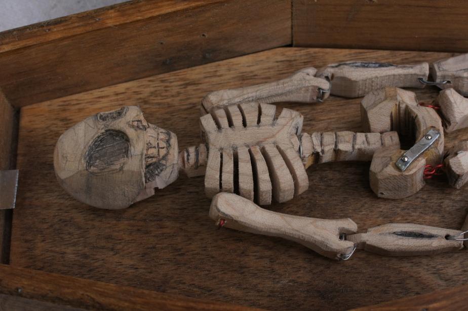 wooden skeleton | tonyfrentrop.com