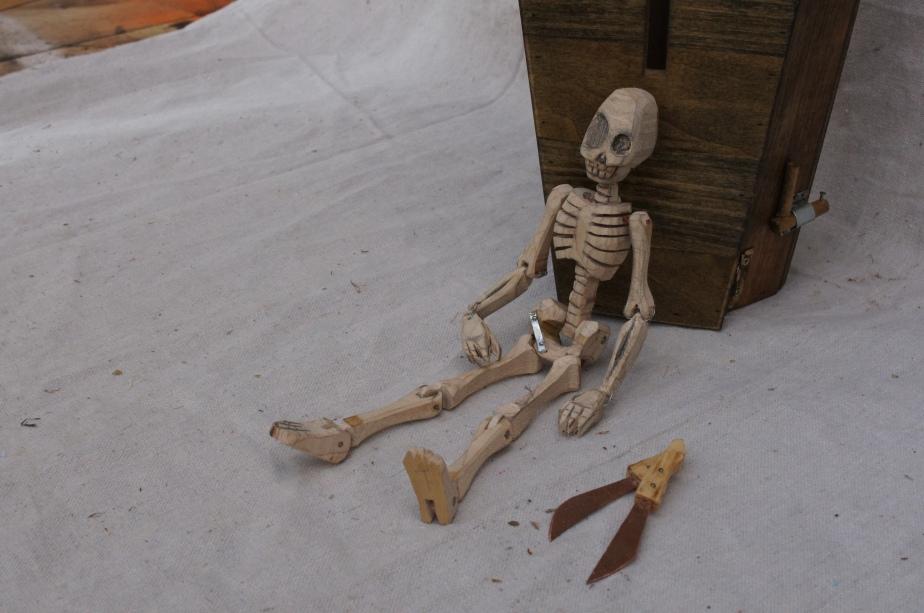 Wooden Skeleton