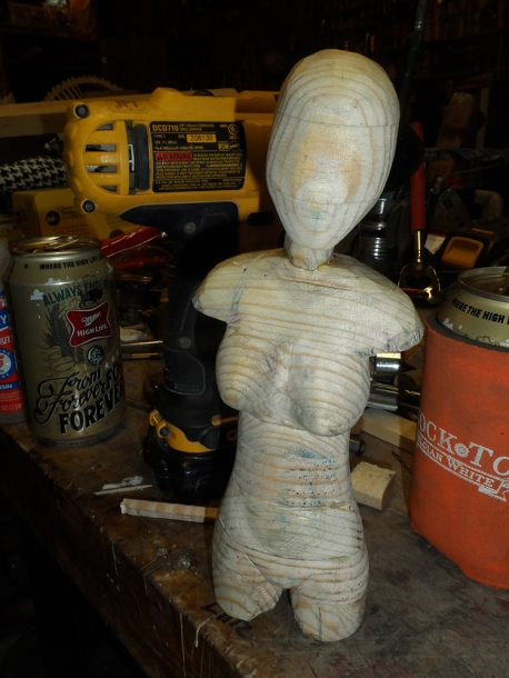 Bust with Gun Arm | tonyfrentrop.com