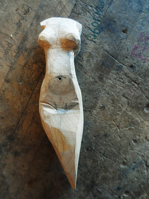 woman incense burner | tonyfrentrop.com