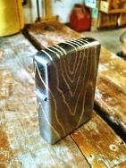 woodgrain zippo - customization