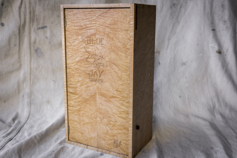 Blue Jay Cigar Box